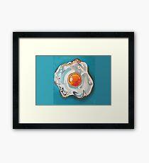 Fried Egg Framed Print