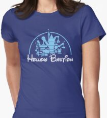 Architecture of a Bastion Womens Fitted T-Shirt