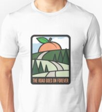 The Road Goes On Forever Unisex T-Shirt