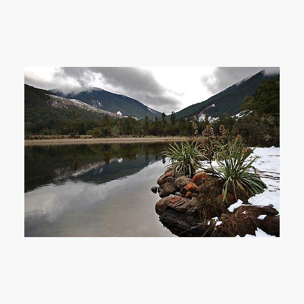 Lake Rotoroa Reflecting Photographic Print