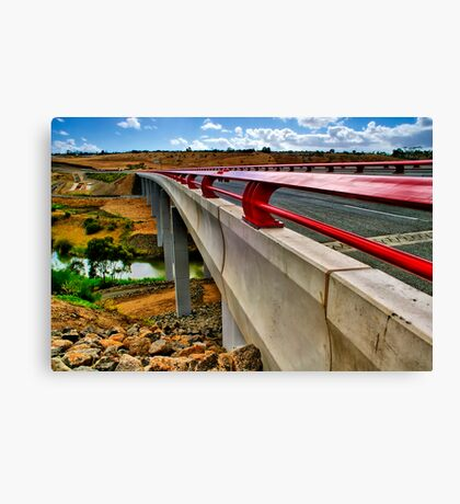 """Bridge on the River Moorabool"" Canvas Print"