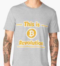B Revolution - Yellow Men's Premium T-Shirt