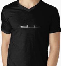 "Limbo #1 ""Boat"" White Edition Men's V-Neck T-Shirt"