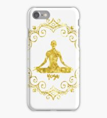 Yoga Golden iPhone Case/Skin