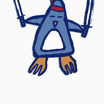 Penguin Ninja by Avalanche