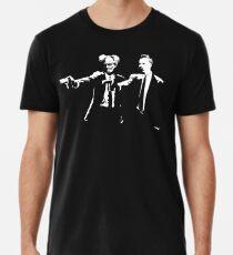 Schopenhauer und Nietzsche - Fun Philosophy Shirt Premium T-Shirt