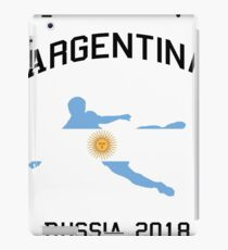 Argentina National Soccer Team Score In Russia And Win 2018 Championship Soccer  iPad Case/Skin