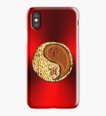 Aries & Tiger Yang Wood iPhone Case/Skin