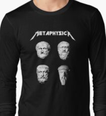 Metaphysica - Fun Metal Philosophy Shirt Langarmshirt