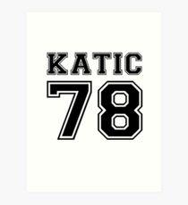 Katic #78 Art Print
