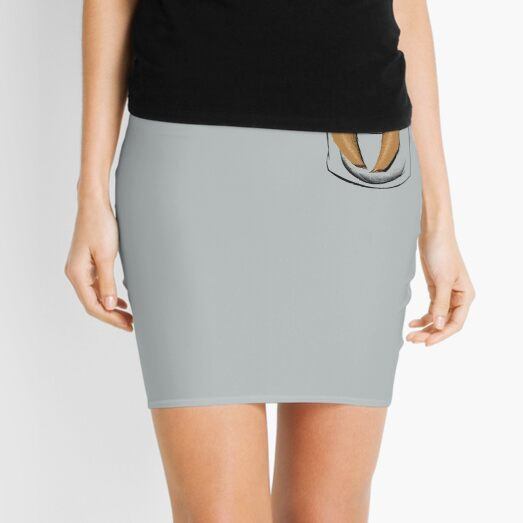Sloth in a Pocket Mini Skirt