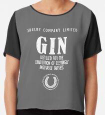 Gin The Eradication of Sadness Chiffon Top