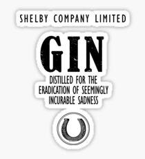 Gin The Eradication of Sadness Sticker