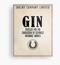 Gin The Eradication of Sadness Metal Print