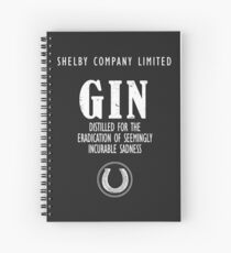 Gin The Eradication of Sadness Spiral Notebook
