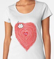The State of LOVE Women's Premium T-Shirt