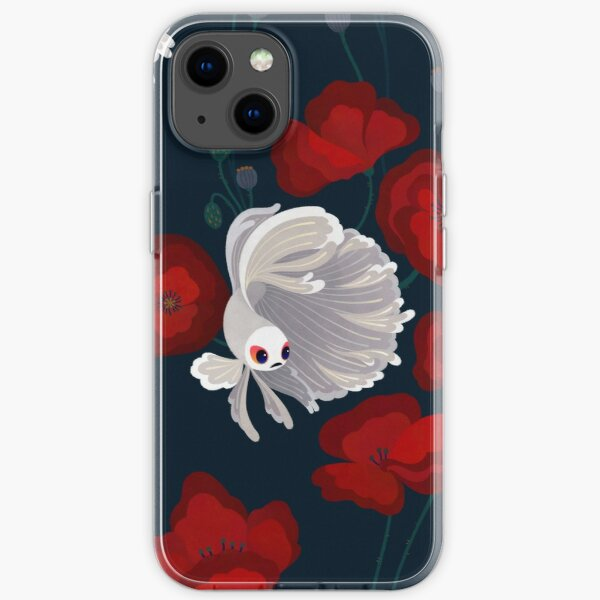 Bettas and Poppies iPhone Soft Case