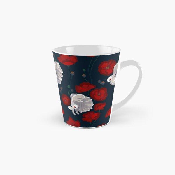 Bettas and Poppies Tall Mug