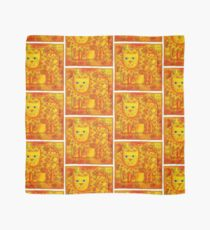 Patterned Lion Scarf