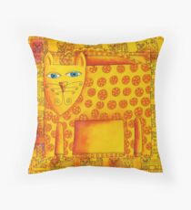 Patterned Leopard Throw Pillow