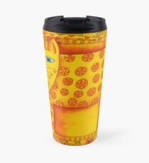 Patterned Leopard Travel Mug