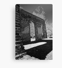 Biggins Church Ruins Canvas Print