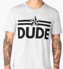 DUDE Vintage Men's Premium T-Shirt
