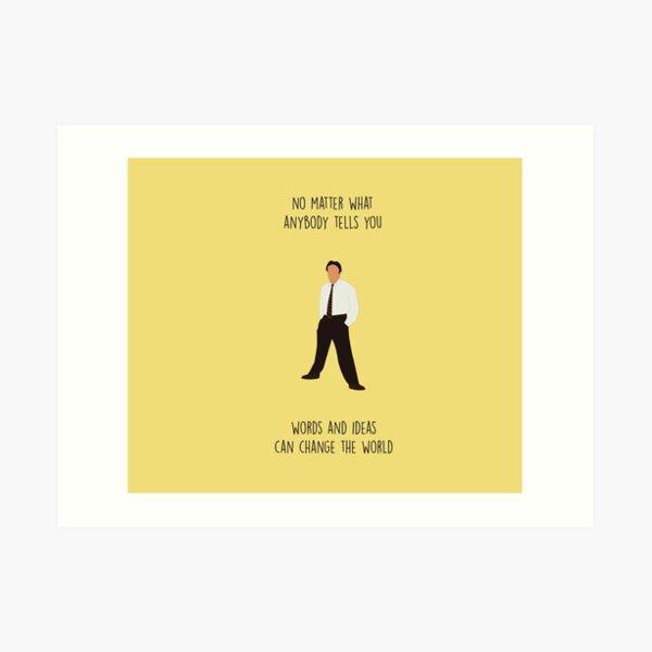 DEAD POETS SOCIETY Minimalist Quotes Movie Poster Minimal Robin Williams Carpe