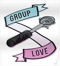 Group Love - Tri Colour Edition Poster
