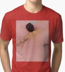 HS - pink flowers Tri-blend T-Shirt