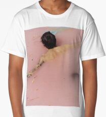 HS - pink flowers Long T-Shirt