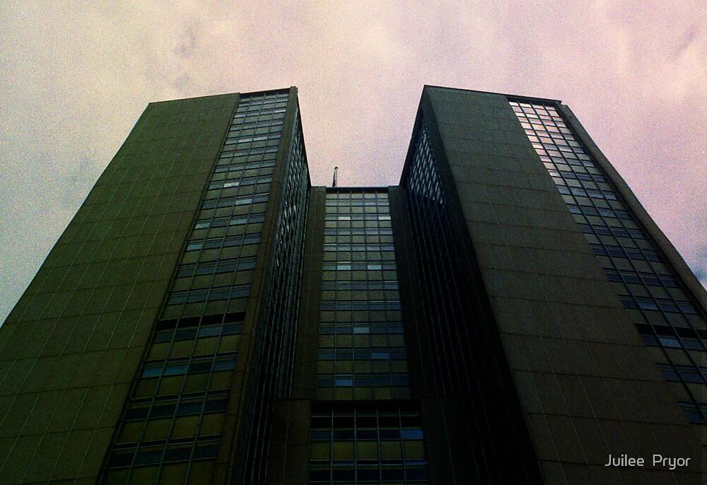 Big City Skyline........the pastel set  # four by Juilee  Pryor