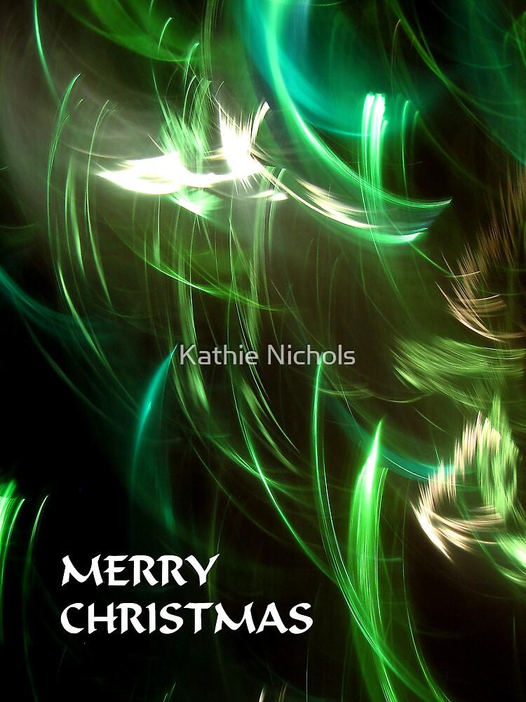 Christmas Lights 1 by Kathie Nichols