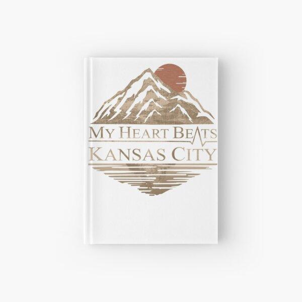 My Heart Beats Kansas City Hardcover Journal