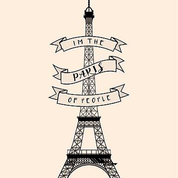 The Paris Of People {Brooklyn 99} by SophieDePablo