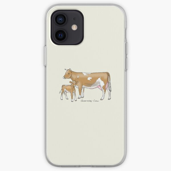 Guernsey Cow iPhone Soft Case