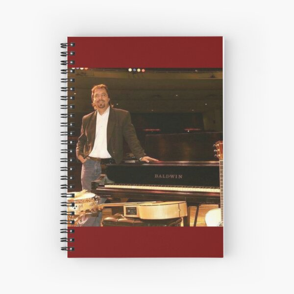 Tony DuPuis Theater XL Spiral Notebook