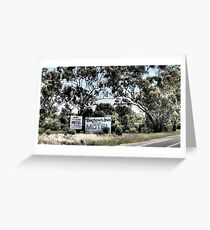 Which Motel? Greeting Card