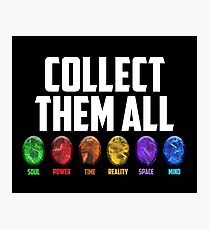 Collect them all! Photographic Print