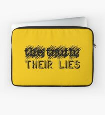 Paramore: Scribble Out the Truth with Their Lies - BLK Laptop Sleeve