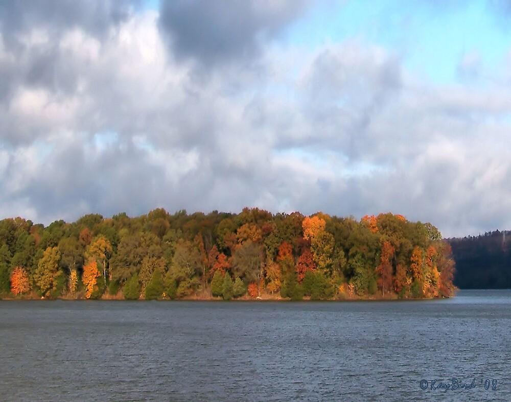 Autumn On The Lake by Kay  G Larsen