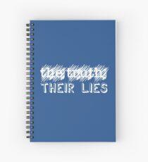 Paramore: Scribbled Out the Truth with Their Lies - WHT Spiral Notebook