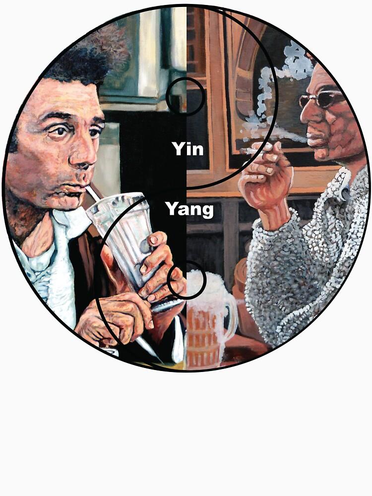 Cosmic Balance Yin Yang by donnaroderick