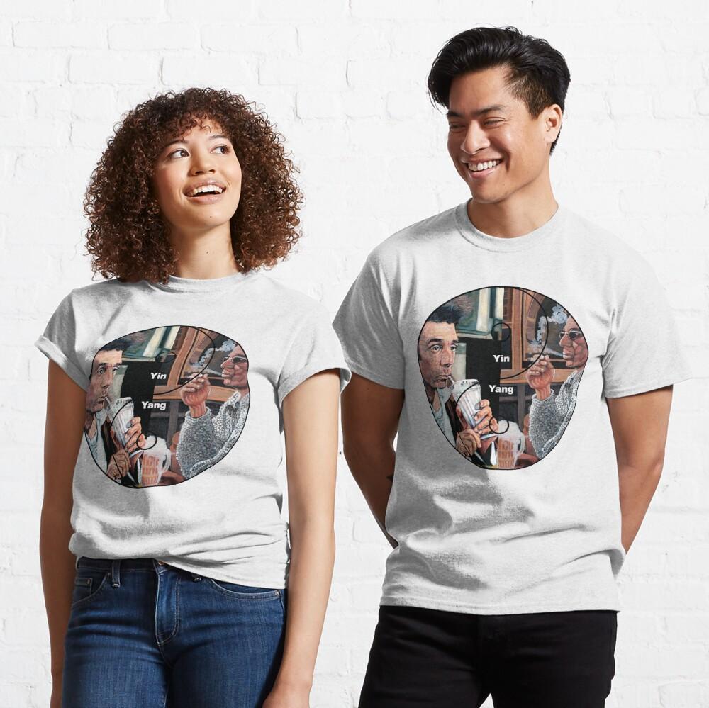 Cosmic Balance Yin Yang Classic T-Shirt