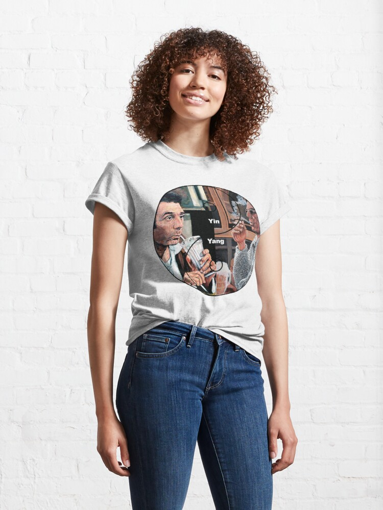 Alternate view of Cosmic Balance Yin Yang Classic T-Shirt