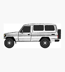 Land Cruiser 70 Series Troopy (machito)  Troop Carrier (HZJ75RV)  Photographic Print