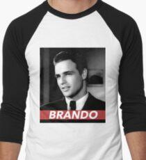 BRANDO Men's Baseball ¾ T-Shirt