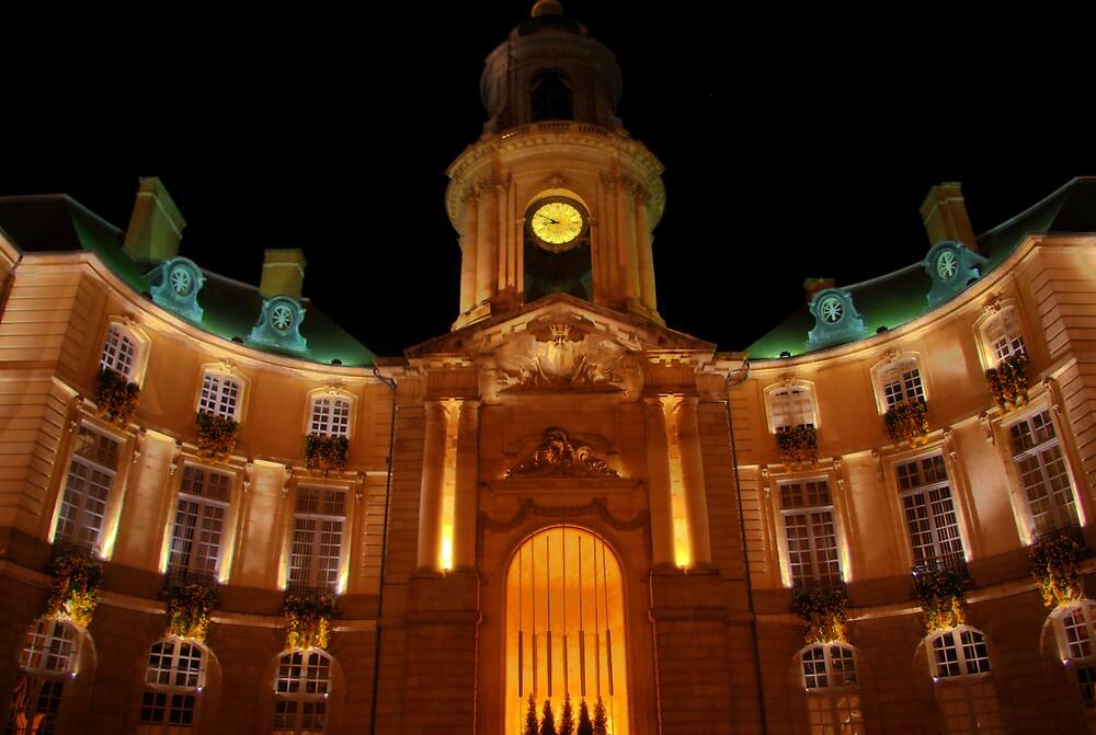 Hôtel de ville de Rennes by Nicolas Connault