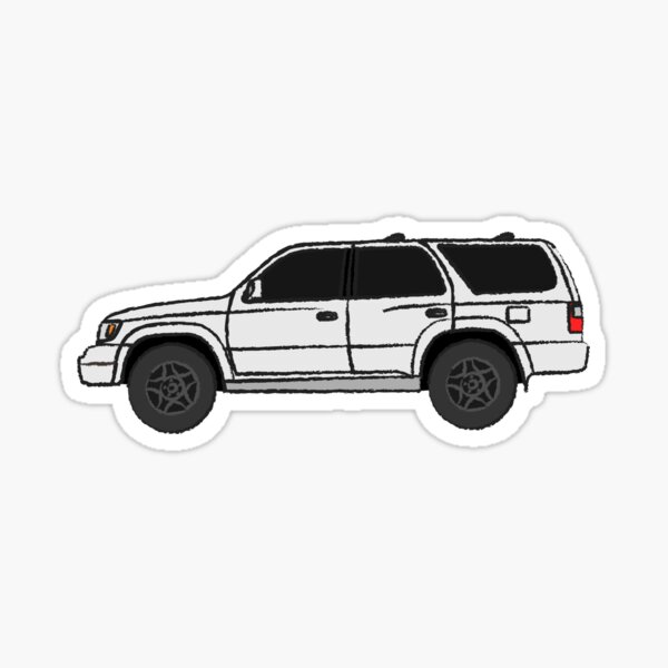 4runner Third generation (N180; 1995–2002) Sticker