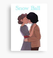 Stranger things - Snow Ball Canvas Print